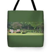 Walking The Course Tote Bag