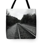 Walking The Line Tote Bag