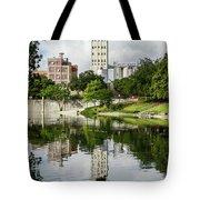 Walking The San Antonio River Tote Bag