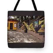 Walking The Streets Of Santa Lucia - 1 Tote Bag