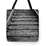 Walking The Track Tote Bag