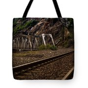 Walking The Tracks Tote Bag