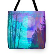 Walking Through The Forest Tote Bag