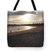 Walking Toward The Sunset Tote Bag