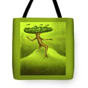 Walking Tree  Tote Bag