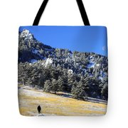 Walking Under The Moon Tote Bag