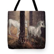 Walking Unicorns Tote Bag