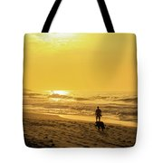 Walking With My Best Friend Tote Bag
