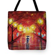 Walking With My Love Tote Bag
