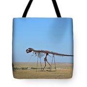Walking Your T-rex Tote Bag