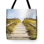 Walkpath To The Beach Tote Bag
