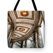 Walkway At Our Lady Of Victory Tote Bag