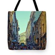 Walkway Over The Street - Lisbon Tote Bag