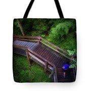 Walkway Tahquamenon Lower Falls Upper Peninsula Michigan Tote Bag