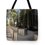 Walkway With Reflection Tote Bag