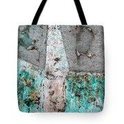 Wall Abstract 118 Tote Bag