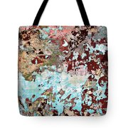 Wall Abstract 128 Tote Bag
