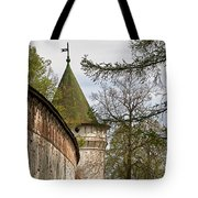 Wall And Tower Tote Bag