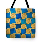 Wall Decoration From The Temple Of Amun At Malqata Tote Bag