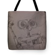 Wall-e With Plant Tote Bag