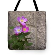 Wall Flower - Wild Rose Tote Bag