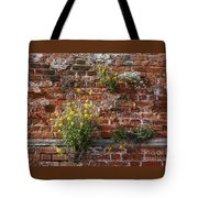 Wall Flowers Tote Bag