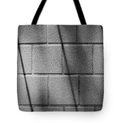 Wall In Shadow Tote Bag