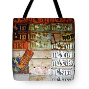 Wall Of Wyoming  Tote Bag