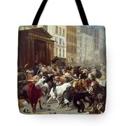 Wall Street: Bears & Bulls Tote Bag