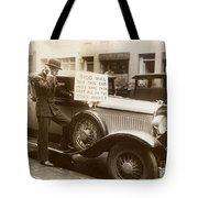 Wall Street Crash, 1929 Tote Bag