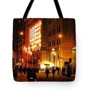Wall Street Evening Tote Bag