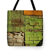 Wall Textures Tote Bag