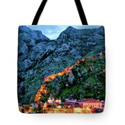 Walled City Tote Bag