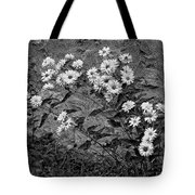 Wallflower Ain't So Bad Bw Tote Bag