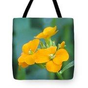 Wallflower Orange Tote Bag