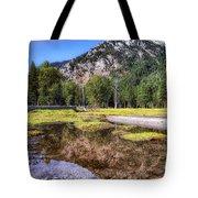 Wallowa Lake Reflections Tote Bag
