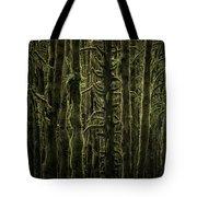 Wallpaper Trees Tote Bag