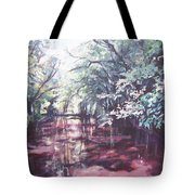 Wall's Bridge Reflections Tote Bag