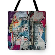 Walls - Favorably Tote Bag