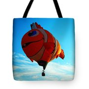 Wally The Clownfish Tote Bag