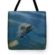 Wally The Gator Tote Bag