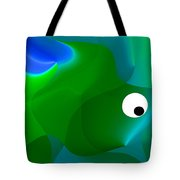 Wally Whale Tote Bag