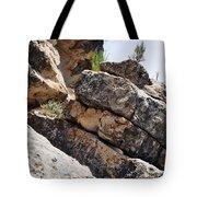 Walnut Canyon Cliffs Tote Bag
