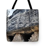 Walnut Canyon National Monument Cliff Dwellings Tote Bag