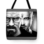 Walt And Jesse Tote Bag