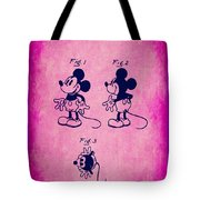 Walt Disney Mickey Mouse Toy Patent 2g Tote Bag