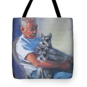 Walter And The Kids Tote Bag