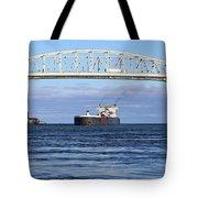 Walter J. Mccarthy And Blue Water Bridge 112917 Tote Bag