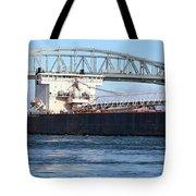 Walter J. Mccarthy Jr. And Blue Water Bridge 2 112917 Tote Bag