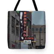 Walter Nippers Sporting Goods Tote Bag